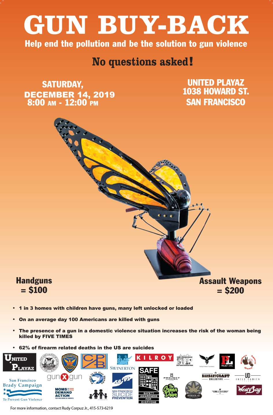 United Playaz Gun Buyback Event 2019