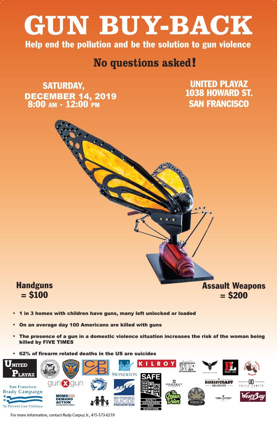 United Playaz Gun Buyback Event 2019